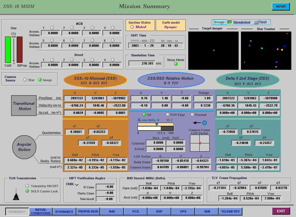 Using the NI MATRIXx Toolset for XSS-10 Microsatellite Flight ...
