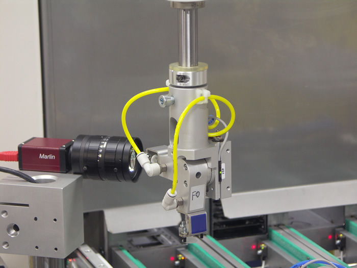 Inline Production Machines for Testing Ink-Jet Nozzles Using