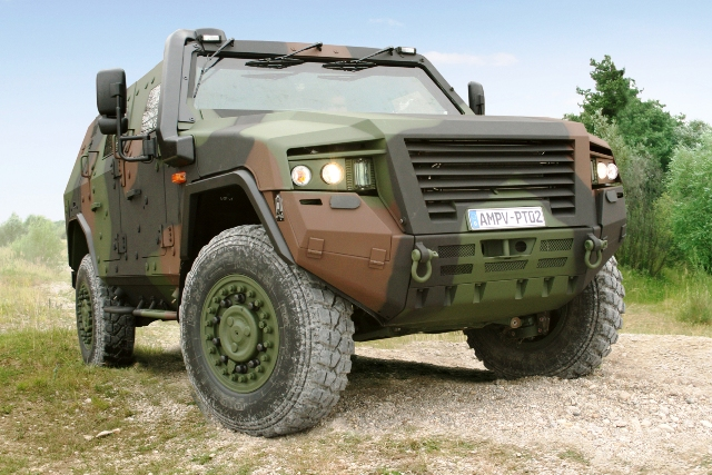 Off Road Vehicles : Simulating and testing armored off road vehicles in