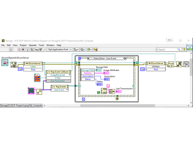 DicomObjectsVIEW – ein neues LabVIEW-Toolkit zur