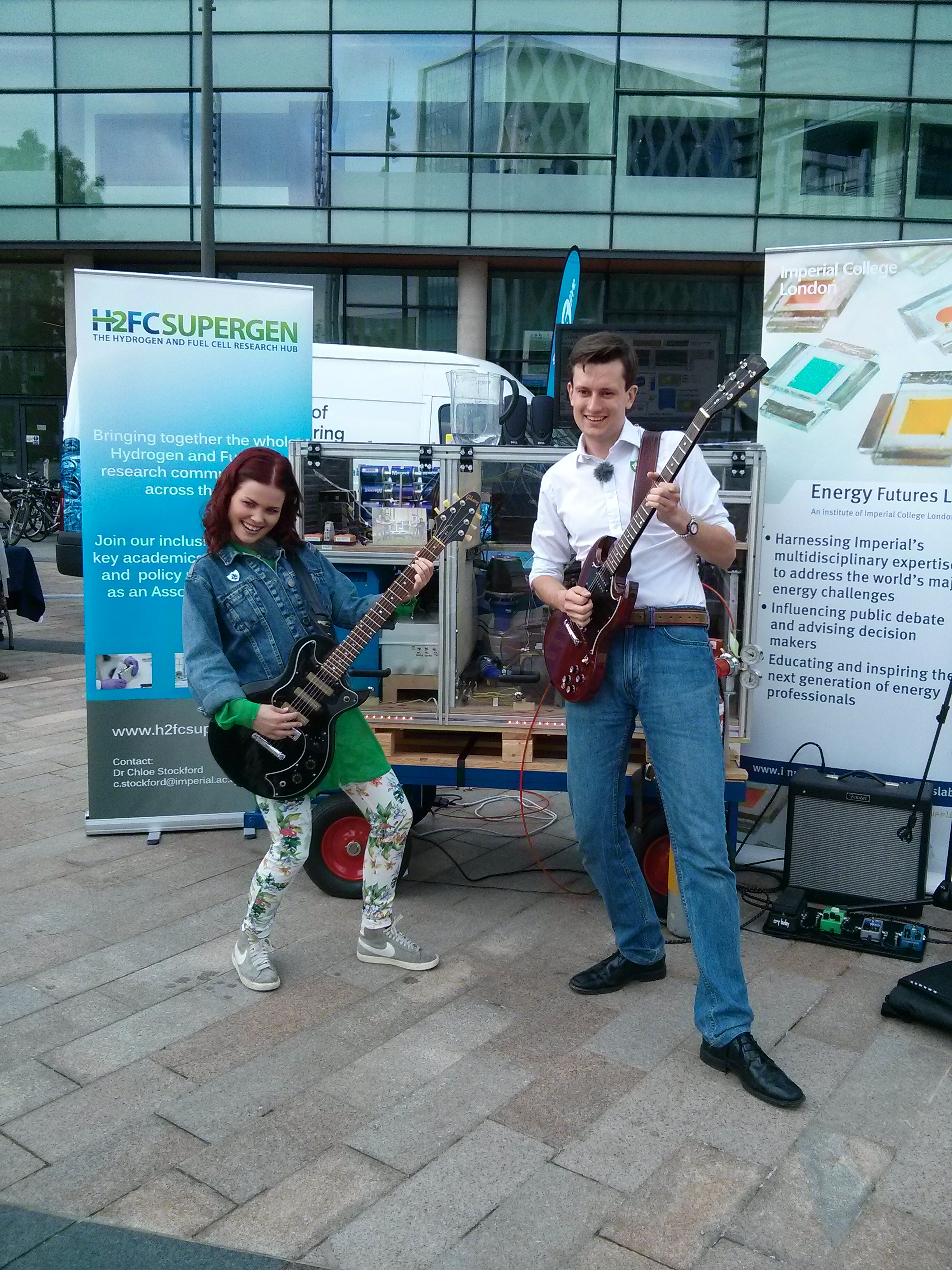 Zero Emission Music: A Hydrogen Fuel Cell Powered Band - Solutions