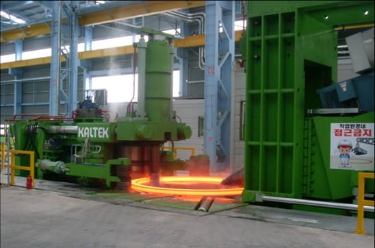 using rolling machine