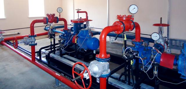 Cluster Pumping Station Automation Of Oil And Gas