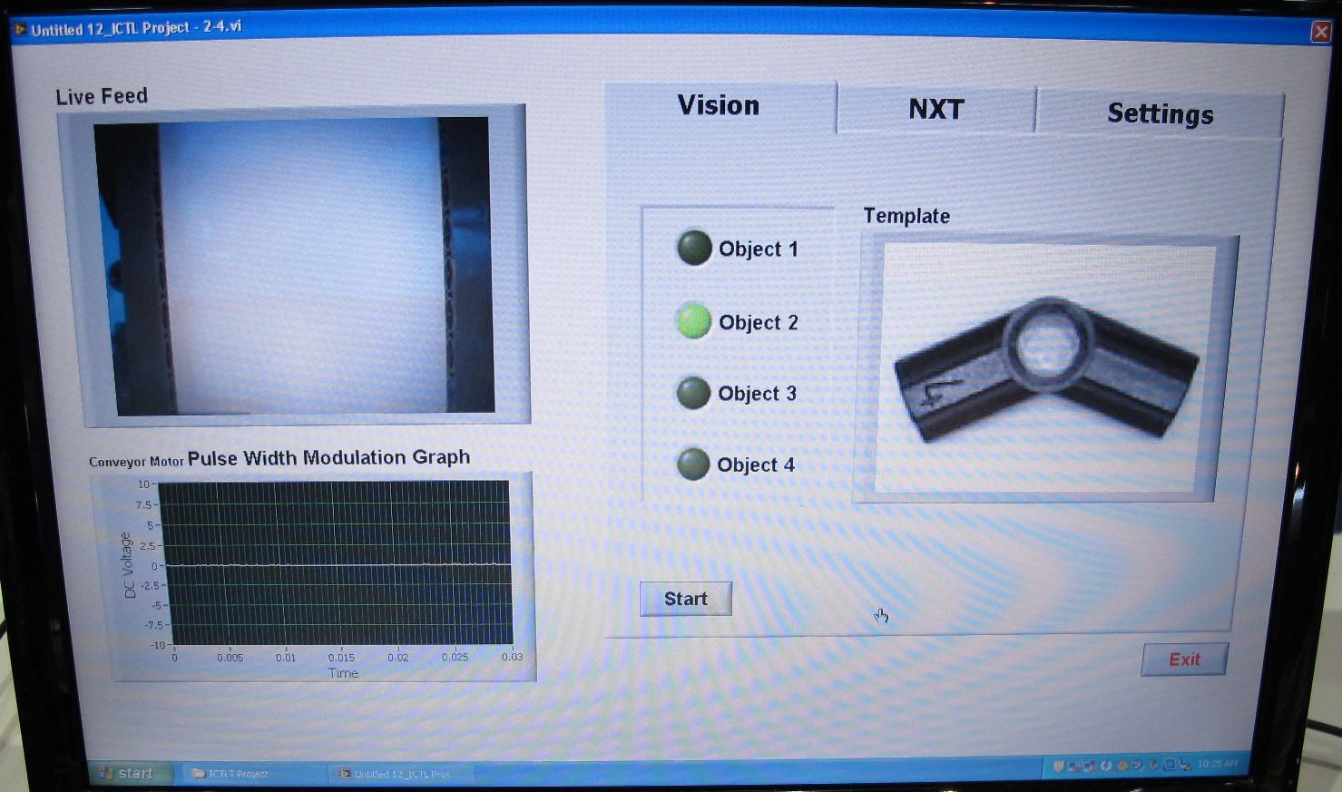 Using NI LabVIEW and LEGO® MINDSTORMS® NXT Software for Vision-Based