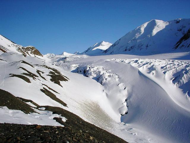 Measuring Glacier Thickness In The Yukon With A Portable