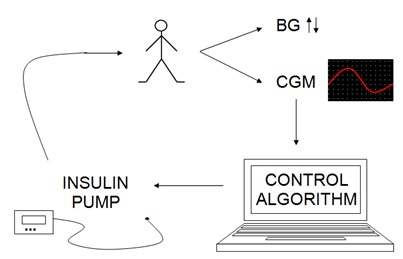 Using LabVIEW for a Diabetic Insulin Control System in