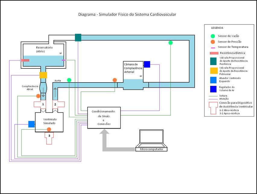 Simulador Físico do Sistema Cardiovascular baseado em LabVIEW ...