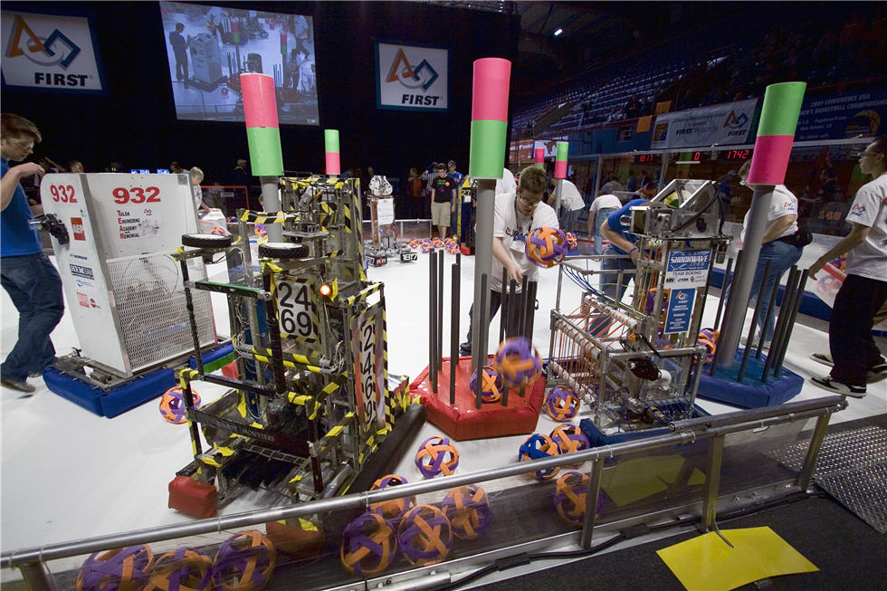 First Robotics Competition Partners With National Instruments To