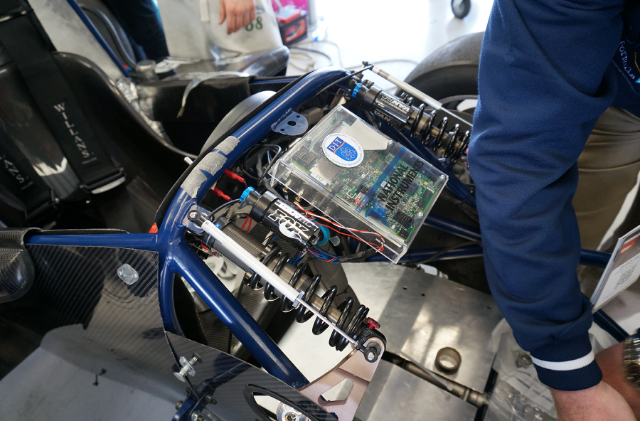 Data Acquisition And Telemetry From A Formula Student Race