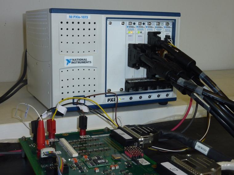 v u00e9rification fonctionnelle d u2019un module  u00e9lectronique d u00e9velopp u00e9 pour une application a u00e9ronautique
