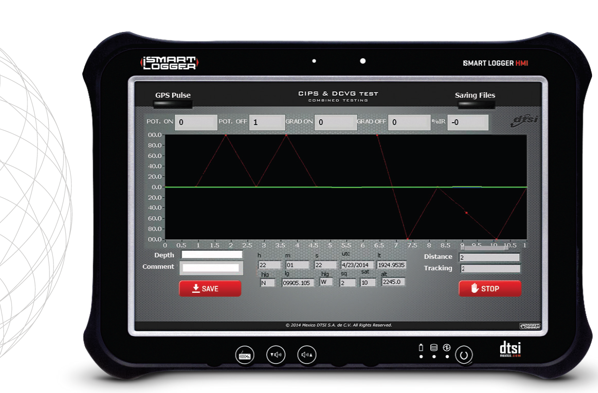 Corrosion Data Logger : Portable data logger for pipeline corrosion and integrity