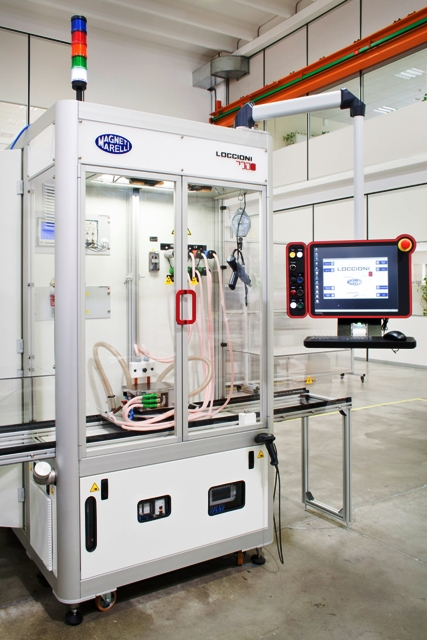 Developing The Elektra Test System A New End Of Line Test