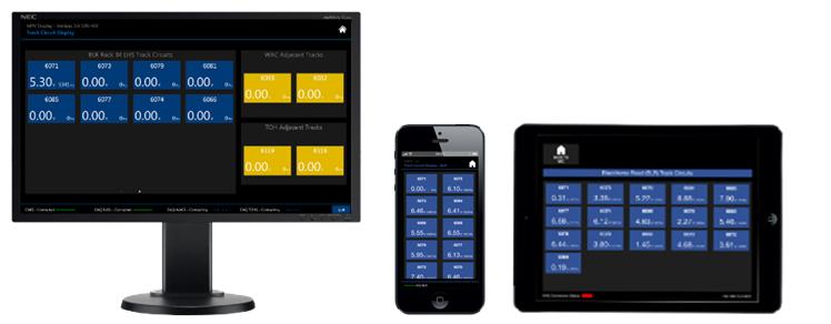 是设备室触控萤幕,智慧型手机,平板电脑的端点连接线路轨道电路资料