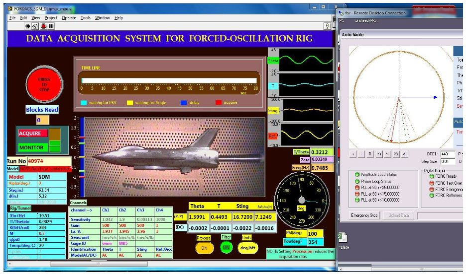 Aerospace Data Acquisition System : Creating a data acquisition processing and monitoring