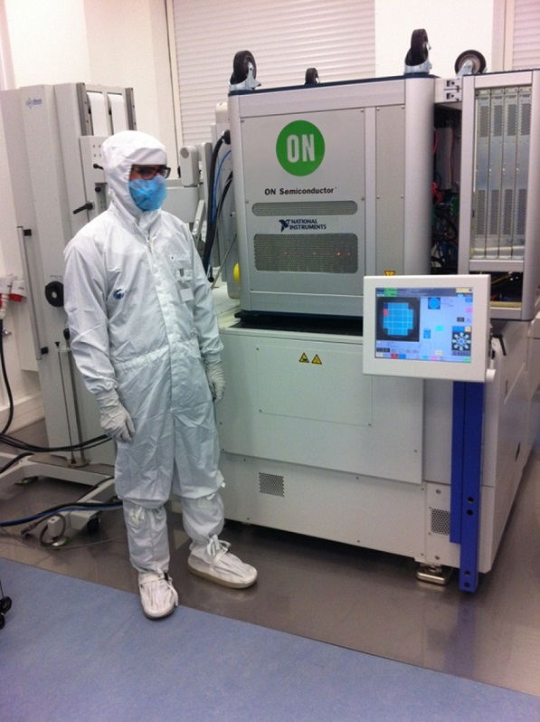 ON Semiconductor Speeds Up Test Times With the Semiconductor