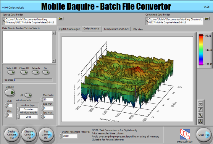 Building An Aston Martin Race Engine Vibration Analysis System With Labview And Compactrio