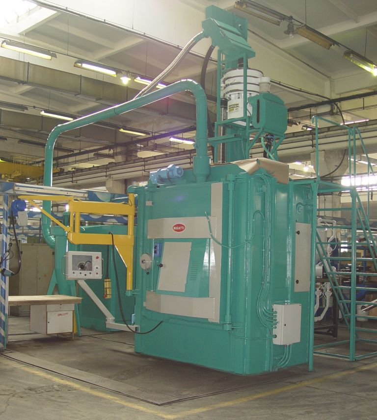 Building A Modern Line For Shot Peening Process