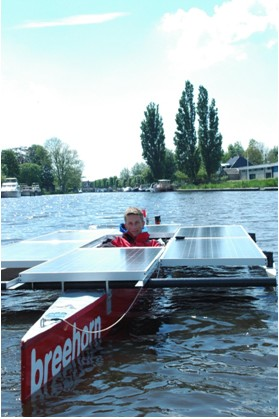 A Solar Powered Boat Racing Team Uses Ni Compactrio And