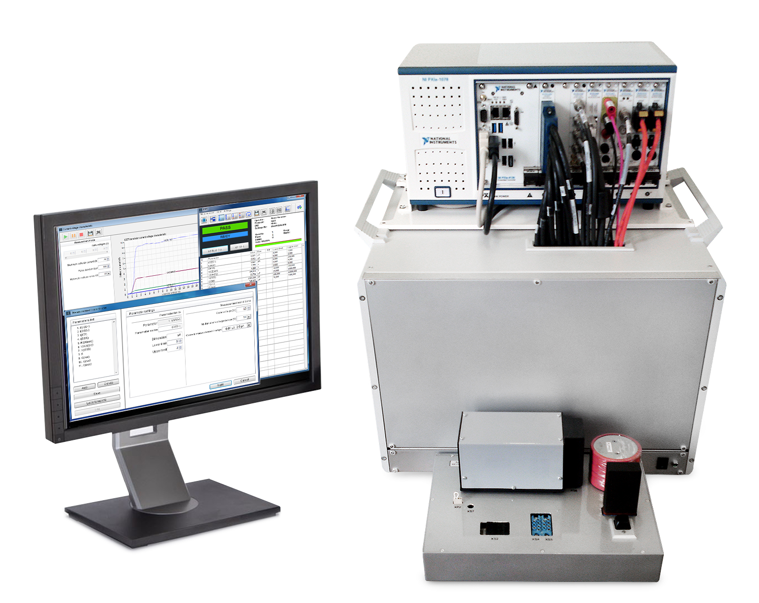 Automated Test System For High Power Ibgt And Mosfet Transistors The Stepperdriver Interface Uses Mosfets 1