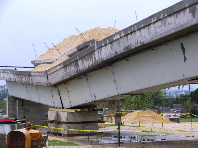 Wireless Data Acquisition For A Bridge Collapse Test