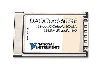 NI DAQCard-6024E (for PCMCIA)
