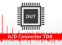 A/D Converters Test Data Analyzer (TDA) Toolkit by Project Integration