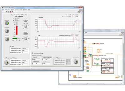 LabVIEW PID and Fuzzy Logic Toolkit