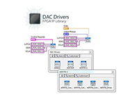 DAC Drivers FPGA Library for LabVIEW by RAFA Solutions