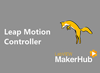 Interface for Leap Motion Controller by MakerHub