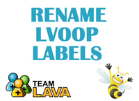 Rename LVOOP Labels - LAVA