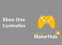 Interface for Microsoft Xbox One Controller by LabVIEW MakerHub
