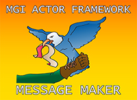 MGI Actor Framework Message Maker by Moore Good Ideas