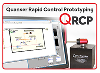Quanser Rapid Control Prototyping Toolkit