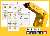 Robotics Library for FANUC by DigiMetrix GmbH