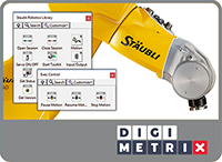Robotics Library for Stäubli by DigiMetrix