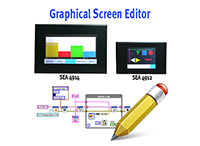 Graphical Screen Editor by S.E.A. Datentechnik