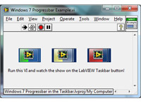 LabVIEW Taskbar Progress Bar API